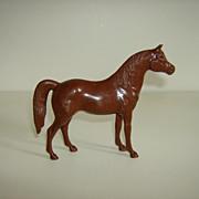 Hartland Plastic Horse ~ 1950's