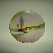 Meito China ~ Hand Painted ~ Plate