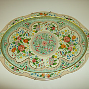 Daher Decorated Ware ~  Oval Tray ~ Holland