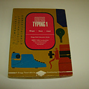 Gregg Typing 1 ~ Boxed Set  ~ 1965