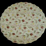 """Copeland Spode """"Rosebud Chintz"""" Pattern Dinner Plate"""
