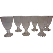 "Anchor Hocking Boopie ""Berwick"" Wine/Juice Glasses"