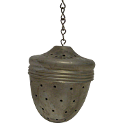 Aluminum Acorn Shaped Tea Ball Infuser