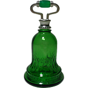 Avon Bottle Green Bell Sweet Honesty 1978