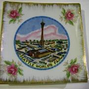 1962 Seattle World's Fair Pin Dish