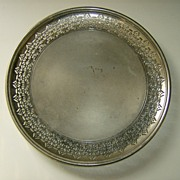 Manning Bowman Reticulated Plate