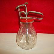 Vintage Syrup Dispenser with Pump