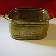Solid Brass Planter - Made in India