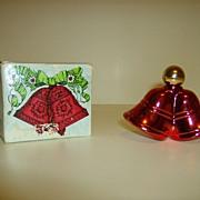 Avon Christmas Bells Cologne Bottle