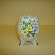 Lefton China Floral Egg Vase ~ Number 02592
