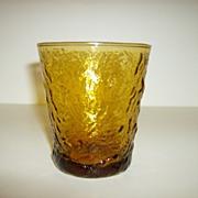Anchor Hocking Milano Honey Gold Tumbler