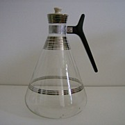 Atomic Coffee Carafe with Ceramic Top