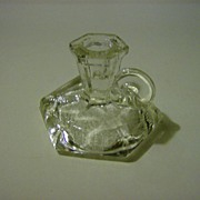 Crystal Chamber Candlestick Holder