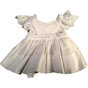 Excellent White Pinafore for Dy-Dee Baby, Betsy Wetsy or Tiny Tears Doll