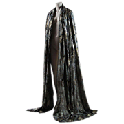Four + Yards Of Fabulous Vintage John Kaldor Lamé / Lame Dress Fabric