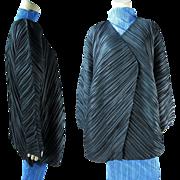Vintage Issey Miyake Pleated Cocoon Style Coat