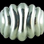 Vintage Los Ballesteros Sterling Silver Cuff Bracelet