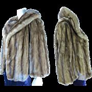 Vintage Revillon Mink Jacket With Shawl Collar