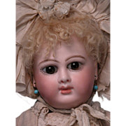 """15"""" Divine Unmarked French Bebe, Early Schmitt, Mothereau"""
