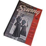 1940 Sewing Instruction Booklet by Du Barry Patterns for F. W. Woolworth