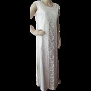 SALE Gorgeous Summer Linen Sheath with Extravagant Braid Trim by Suzette of Santa Fe