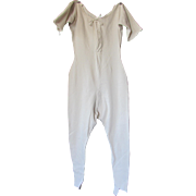SALE Ladies Knit Underwear Union Suit by Regalia Mills