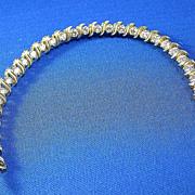 SALE Fabulous 5.30 Carat Diamond Tennis Bracelet 14K