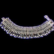 SOLD Antique Rajasthani Silver Anklet, c1910