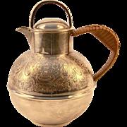 English Silver Plated Pint Milk Jug, c1940