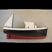 Fishing Boat Half Hull Model