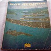 REDUCED Hot Springs AR Telephone Book 1961