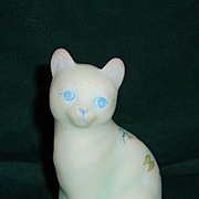Fenton Cat Mould #5165BL 1979