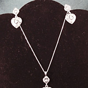 Vendome Necklace and Earrings Set