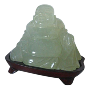 SALE Chinese Jade Carved Buddha Figure