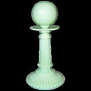 Super Rare Portieux Venetian Ordinaire Oil Lamp  - Rare Color - C 1894