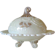 Northwood Louis XV Custard Covered Butter Dish