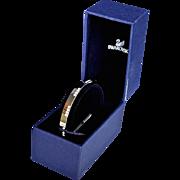 Beautiful Swarovski Rhodium Plated Crystal Pave Bracelet