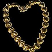 REDUCED Vintage Anne Klein 10K Gold Plate Link Necklace