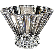 SALE Rosenthal Lead Crystal Ribbed Bowl