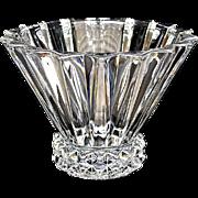 SALE Rosenthal Lead Crystal Ribbed Bowl