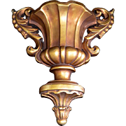 SALE Decorative Architectural Cast Wall Sconce / Corbel