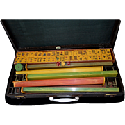 SALE ROYAL DEPTH Bakelite Mah Jong Travel Games 1950's
