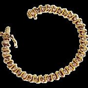 REDUCED Estate Ladies 14K Gold 3.5 Carat Diamond Tennis Bracelet