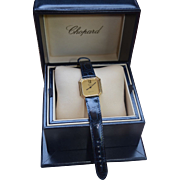 SALE Tiffany & Co / Chopard 18K Gold  Hexagon Deco Inspired Watch