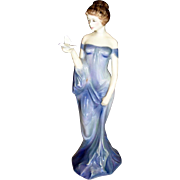 "REDUCED Royal Doulton Porcelain Figurine ""Women with Bird"" 1977"