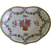 REDUCED Carl Thieme Dresden Porcelain Hand-Painted Floral Bowl