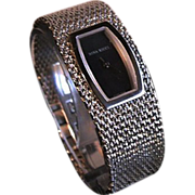 REDUCED Designer Nina Ricci Couture Stainless Steel Watch