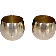 SOLD Pair of Tiffany & Co Toasting Sipping Cordials Cups (Set 6)
