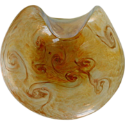 SOLD 1950's Murano Fratelli Toso Starry Night Bowl