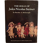 SALE PENDING Doll Reference Book!  The Dolls of Jules Nicolas Steiner - Dorothy McGonagle!